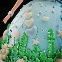 海洋芭比蛋糕的做法图解18