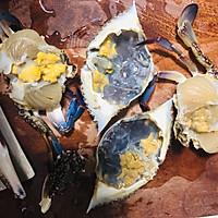香辣梭子蟹烩年糕的做法图解8