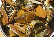 河蟹炖南瓜的做法