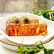 #新春美味菜肴#牛肉肠加鸡蛋,孩子最爱的能量早餐
