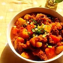 【番茄土豆炖牛腩】冬季炖菜