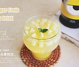 秋冬饮品—姜汁水果热饮的做法