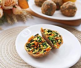 全麦面菜团子❗️低脂饱腹减肥主食代餐的做法