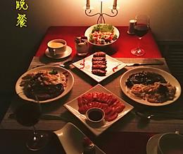 如何准备一桌烛光晚餐的做法