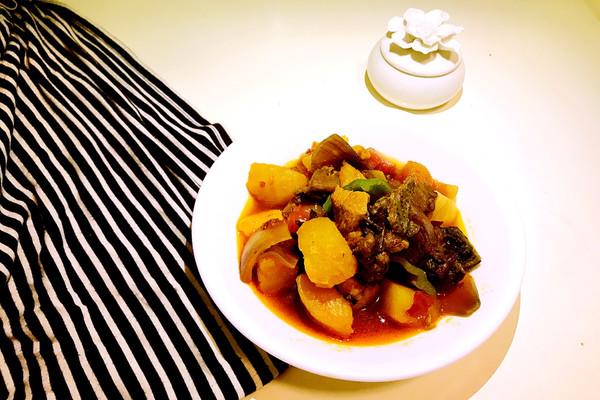 新疆大盘鸡#厨此之外,锦享美味#的做法