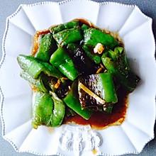 油焖尖椒(素菜版)