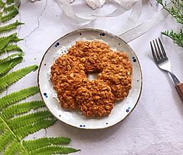 #夏天夜宵High起来!#红糖燕麦饼的做法