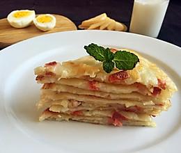 火腿土豆饼#急速早餐#的做法