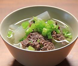 客家萝卜牛肉汤的做法