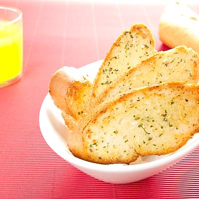 香蒜烤面包