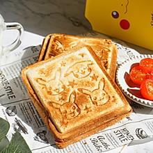 孩子最爱的早餐三明治,快手5分钟,营养又健康,同学都夸真幸福