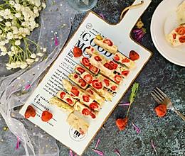#春季食材大比拼#草莓牛扎糖的做法