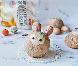 星黛露兔兔豆沙面包的做法