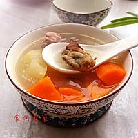 猪尾骨蚝干木瓜汤的做法图解12
