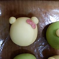 青蛙凯蒂挤挤包(一次发酵)#网红美食我来做#的做法图解22