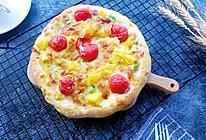 脆底水果披萨的做法