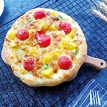 脆底水果披萨
