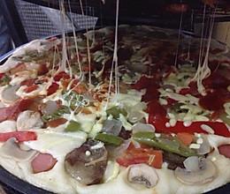 电饼铛做披萨的做法