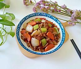 #《风味人间》美食复刻大挑战#牛肉小炒的做法