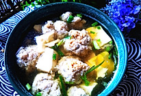 #夏日撩人滋味#豆腐鱼丸子汤的做法
