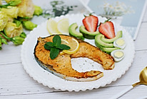 秀出你的早餐–香煎三文鱼的做法