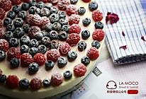 美貌天成-小红莓大理石芝士蛋糕的做法