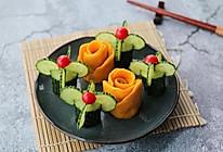 南瓜玫瑰卷的做法