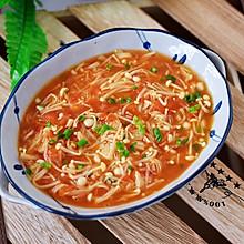 #2018年我学会的一道菜#茄汁金针菇