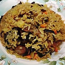 腊肠焖饭(腊肉饭)、(腊味饭)