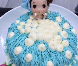 大仙美食课堂之芭比娃娃蛋糕的做法