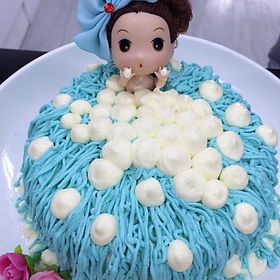 大仙美食课堂之芭比娃娃蛋糕