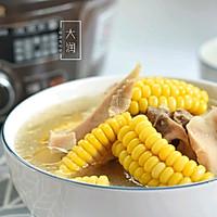 夏季长个高-牛骨响螺玉米汤的做法图解6