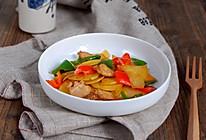 五花彩椒土豆片的做法