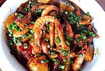 明虾煲的做法