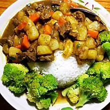 咖喱土豆饭