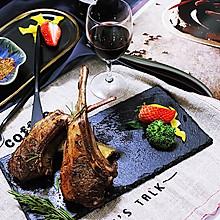 #新年开运菜,好事自然来#红酒迷迭香法式羊排