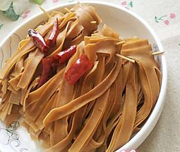香卤豆腐皮儿的做法