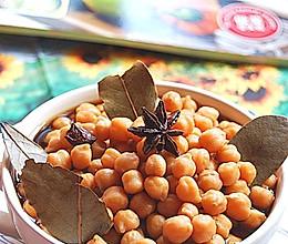 卤水鹰嘴豆的做法
