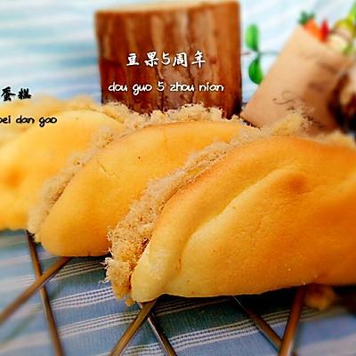 肉松仙贝蛋糕+