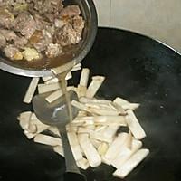 排骨汁炒鸡腿菇的做法图解5