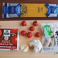 猪肉肠番茄意面#厨房有维达洁净超省心#的做法图解1