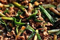 大蒜炒牛肉丝的做法