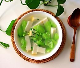 丝瓜鱼糕汤的做法