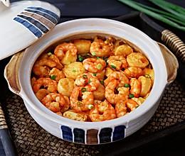豆腐虾仁粉丝煲