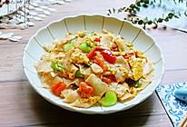 一锅搞定一餐饭——【素炒面片】的做法