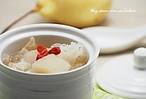 冰糖银耳雪梨汤的做法