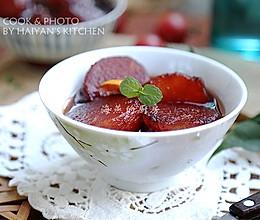 消暑解热零脂肪夏日必吃甜品-【红酒冬瓜丸】的做法