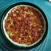 鲜虾火腿披萨的做法图解8