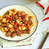 #花10分钟,做一道菜!#茭白牛排粒的做法图解9