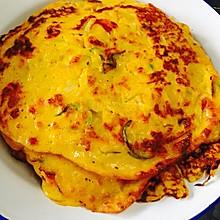 南瓜蔬菜鸡蛋饼
